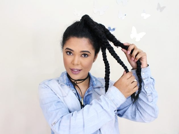 penteados com trancas10 630x473 - Penteados com trança: Inspirações e dicas de penteados