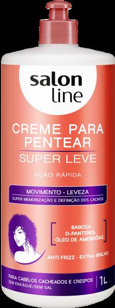 CREME PARA PENTEAR SUPER LEVE, 1L