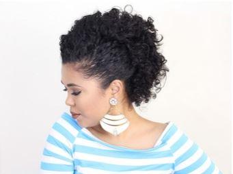 penteado coque rosquinha - Penteados simples: dicas para a rotina e ocasiões especiais