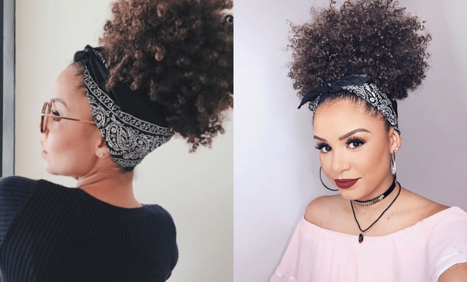 Penteado com bandana: como salvar seu bad hair day