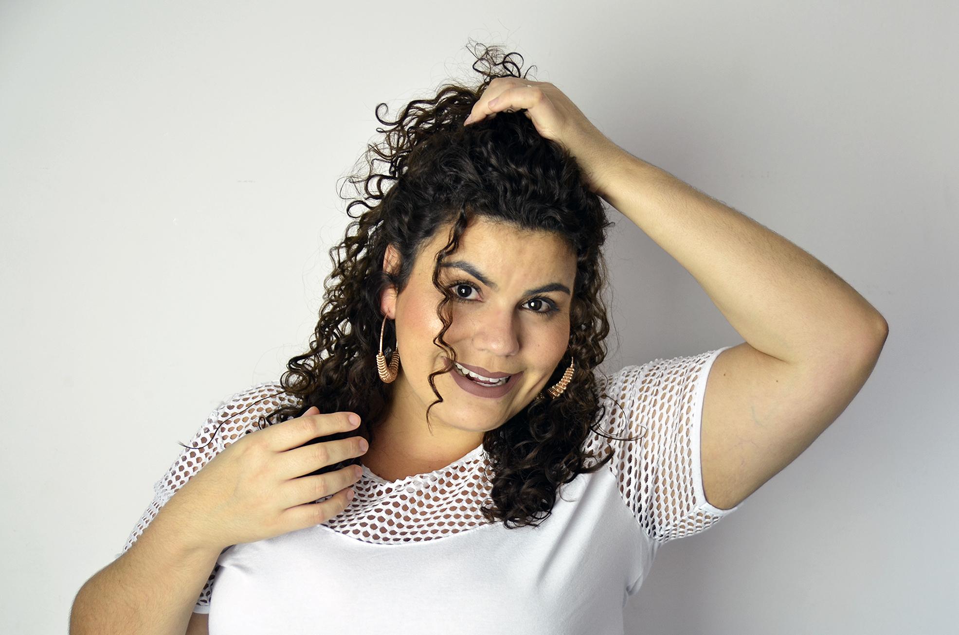 Foto02 CamilaCura - Penteado Half bun: conheça o passo a passo