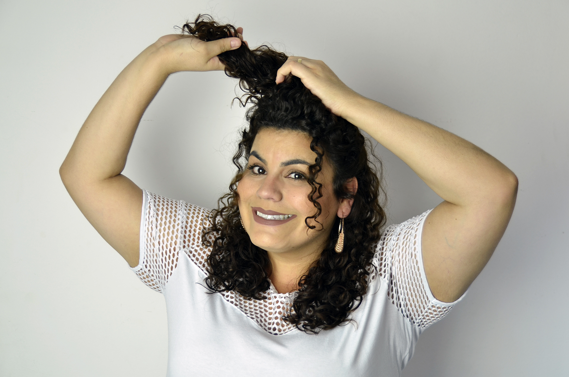 Foto04 CamilaCura - Penteado Half bun: conheça o passo a passo