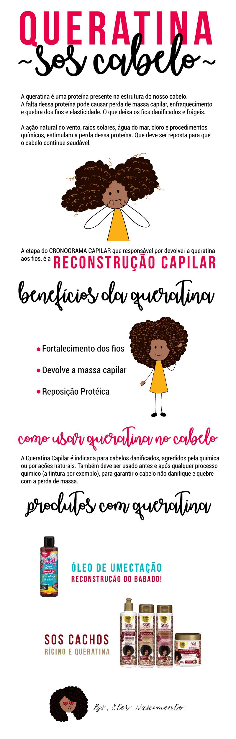 Texto Outubro - Queratina Capilar: conheça os seus benefícios