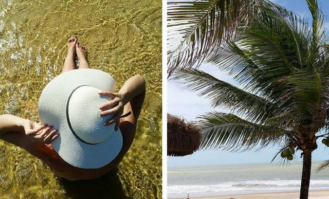 cuidados com o cabelo na praia - Cuidados com os fios na praia: cuidando dos cachos e da cor