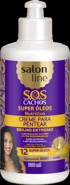 CREME PARA PENTEAR SUPER ÓLEOS NUTRITIVO S.O.S CACHOS