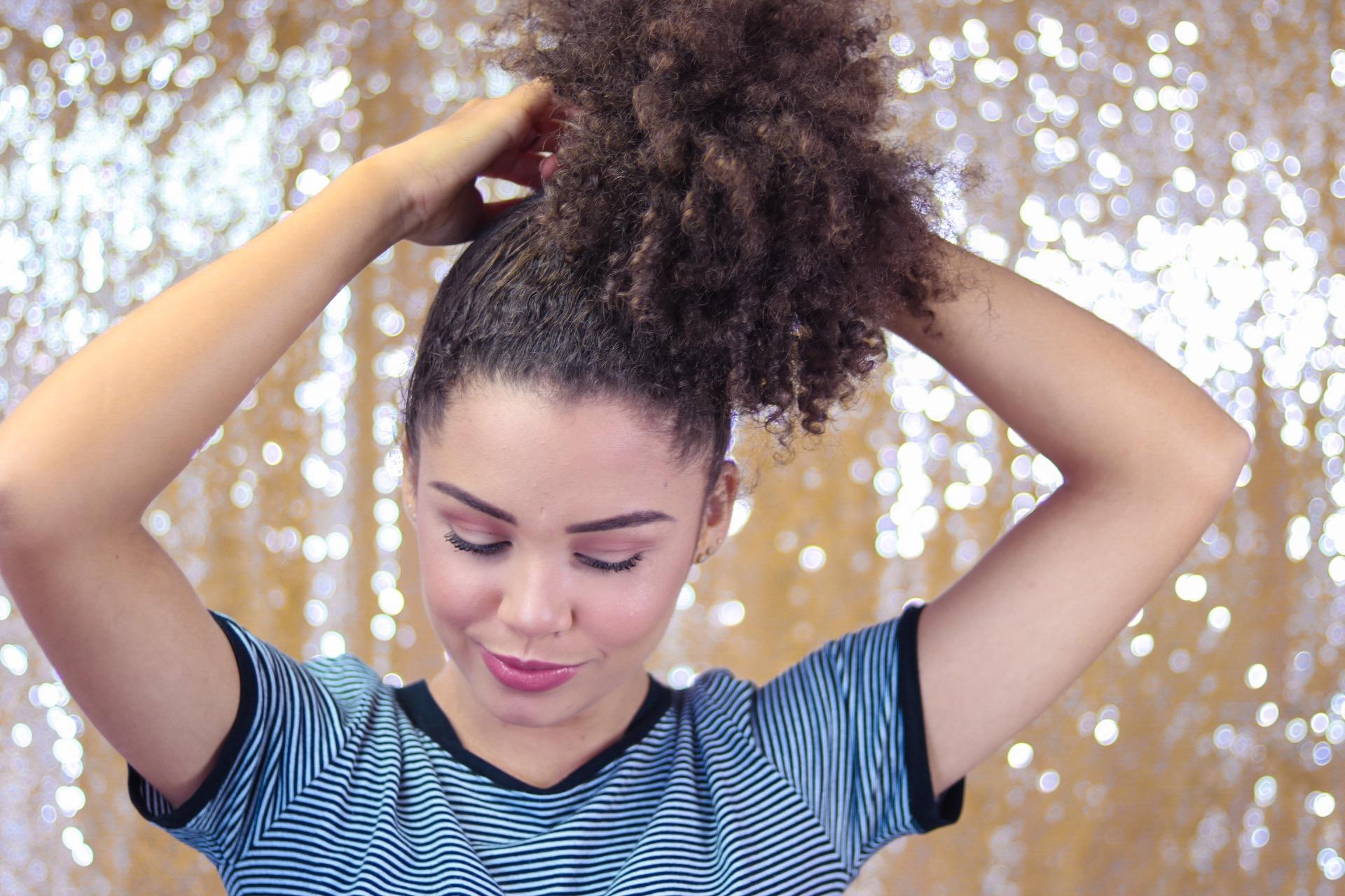 Penteado de carnaval: modelo fofo pra folia!