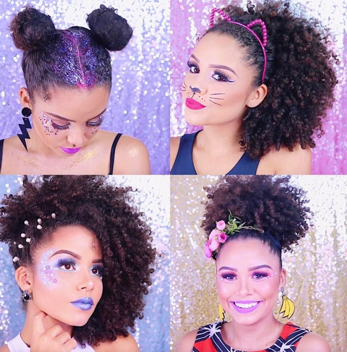 Penteados de carnaval: inspirações para a maior festa do mundo!