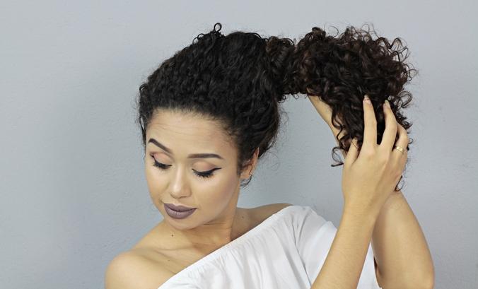 COQUE 1 FOTO 2 - Penteado de coque para o dia a dia
