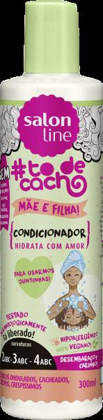 CONDICIONADOR MÃE E FILHA {HIDRATA COM AMOR} #TODECACHO