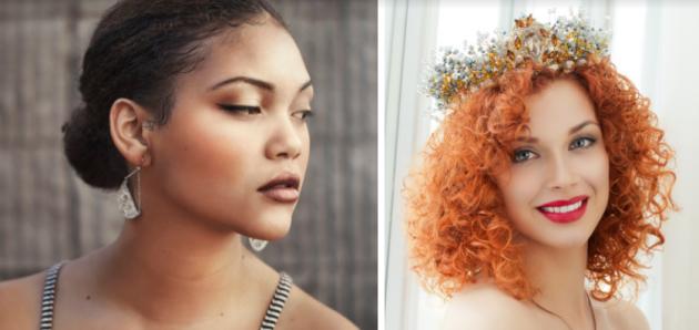 penteado cabelo crespo 630x298 - Penteados para cabelos crespos e cacheados: 60 inspirações