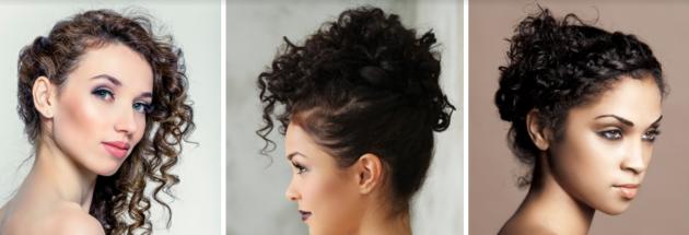 penteado para cabelo crespo 630x215 - Penteados para cabelos crespos e cacheados: 60 inspirações