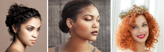 Penteados para cabelo cacheado curto: penteados simples e elegantes