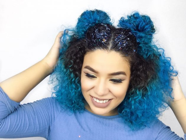 space bun 630x473 - Penteados em cabelos médios: Fotos e dicas de penteados incríveis