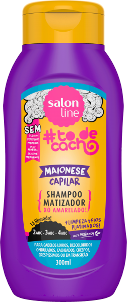 SHAMPOO MAIONESE MATIZADORA #TODECACHO