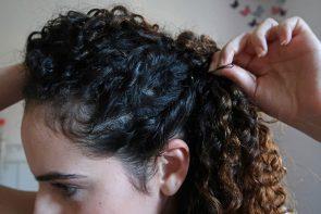 penteados para festa 3 295x197 - Penteados super fáceis para festa