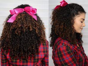 foto 2 295x221 - Penteados de São João para cabelos cacheados: 3 opções de arrasar!