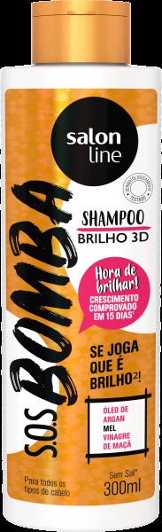 SHAMPOO BRILHO 3D S.O.S BOMBA