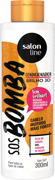CONDICIONADOR BRILHO 3D S.O.S BOMBA
