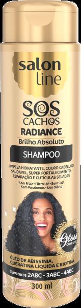 SHAMPOO S.O.S CACHOS RADIANCE- BRILHO ABSOLUTO