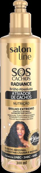 ATIVADOR DE CACHOS RADIANCE – BRILHO ABSOLUTO S.O.S CACHOS