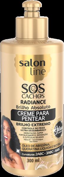 CREME PARA PENTEAR RADIANCE – BRILHO ABSOLUTO S.O.S CACHOS