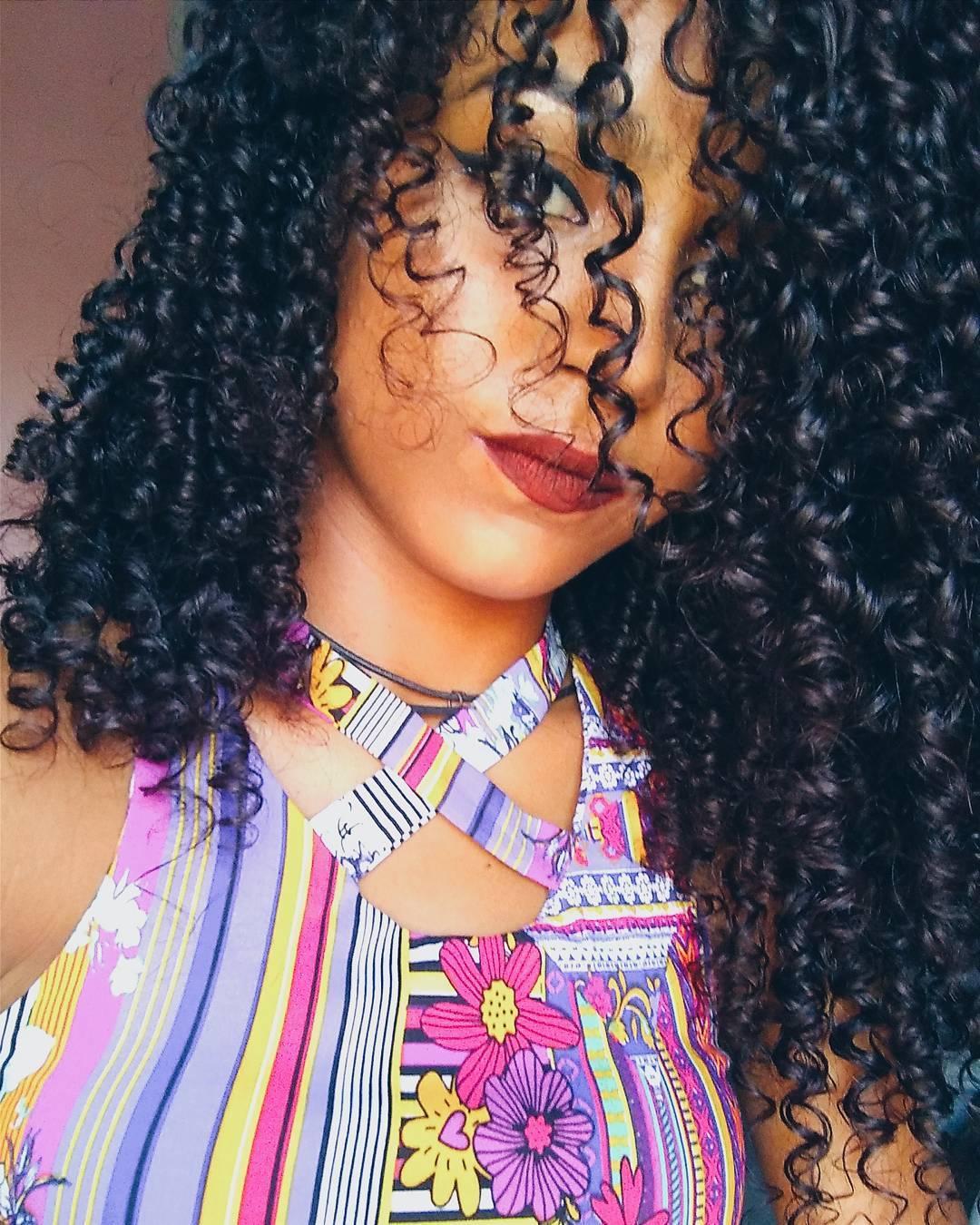 Penteado cabelo tipo 3