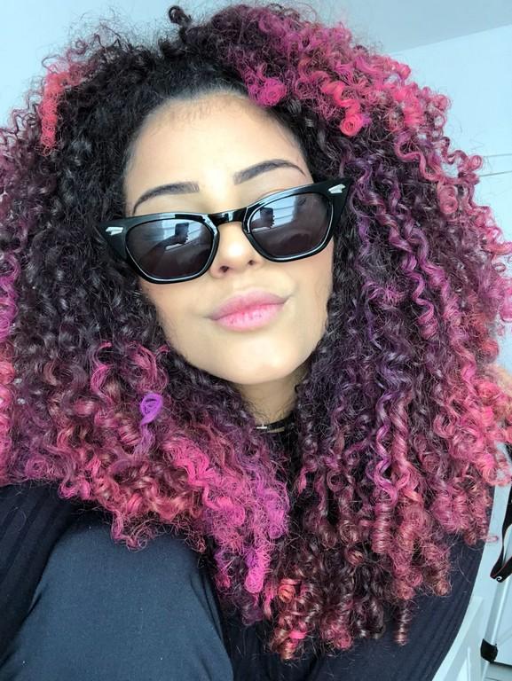 cabelo colorido nas pontas3 - Cabelo colorido nas pontas: Inspirações, dicas e técnicas para apostar nas cores fantasias
