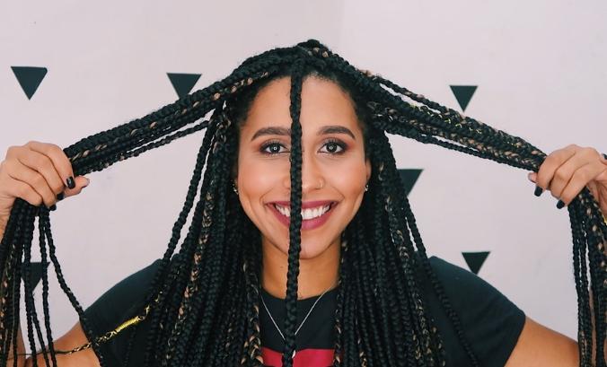 Box Braids Veja Fotos E Como Fazer Penteados Nas Tranças