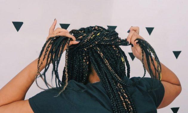 penteados tranças box braids mona 2 630x381 - Penteados práticos com tranças box braid