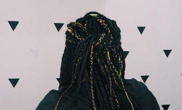 Penteados práticos com tranças box braid