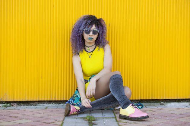 cabelo violeta3 630x420 - Cabelo violeta: Tudo o que você precisa saber sobre essa coloração