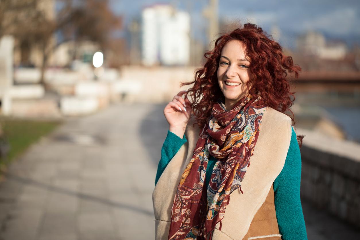 cabelo vermelho borgonha4 - Mechas vermelhas: tudo sobre a mais nova tendência dos cabelos