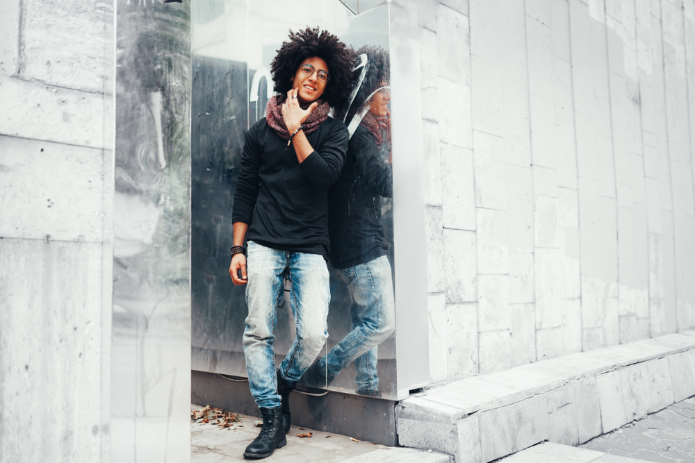 corte de cabelo afro masculino - Corte de cabelo afro masculino: Melhores modelos, finalização e dicas