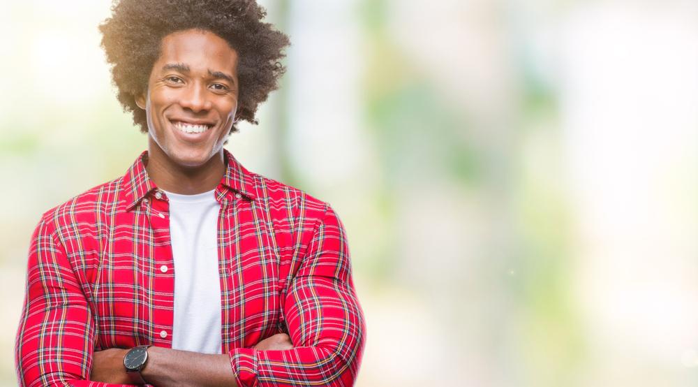 corte de cabelo afro masculino8 - Corte de cabelo afro masculino: Melhores modelos, finalização e dicas