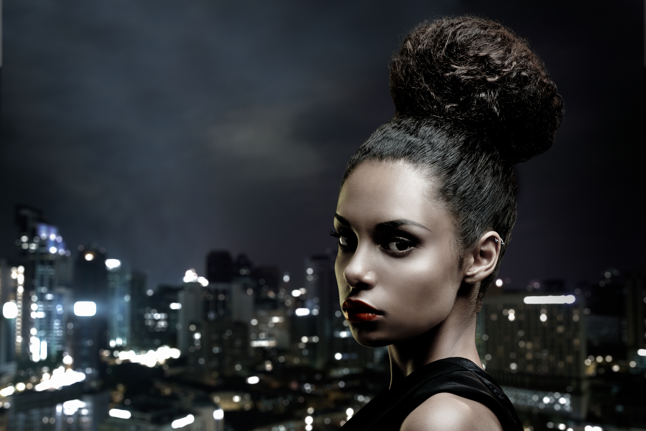 coque 12 - Todo tipo de coque! Inspire-se nas mais diferentes formas de usar esse penteado mega versátil!