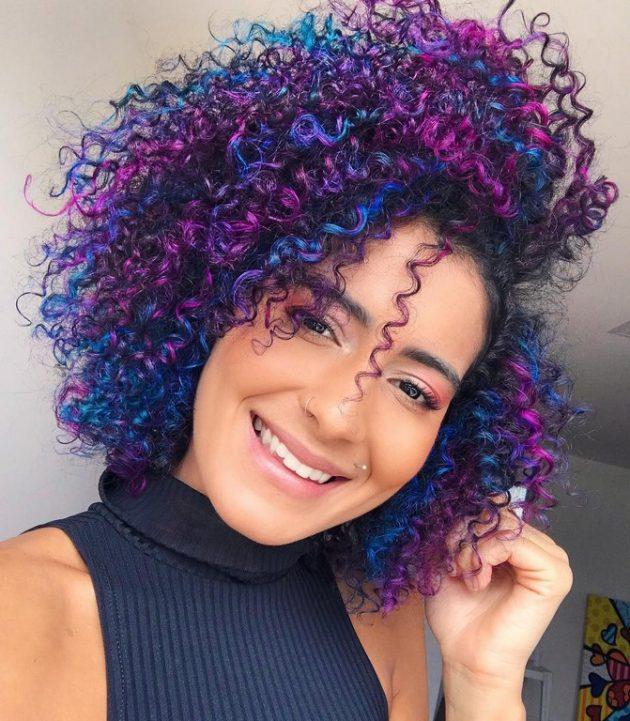 Cabelo azul - Dúvidas sobre cabelos coloridos? Respondemos à todas elas para você!