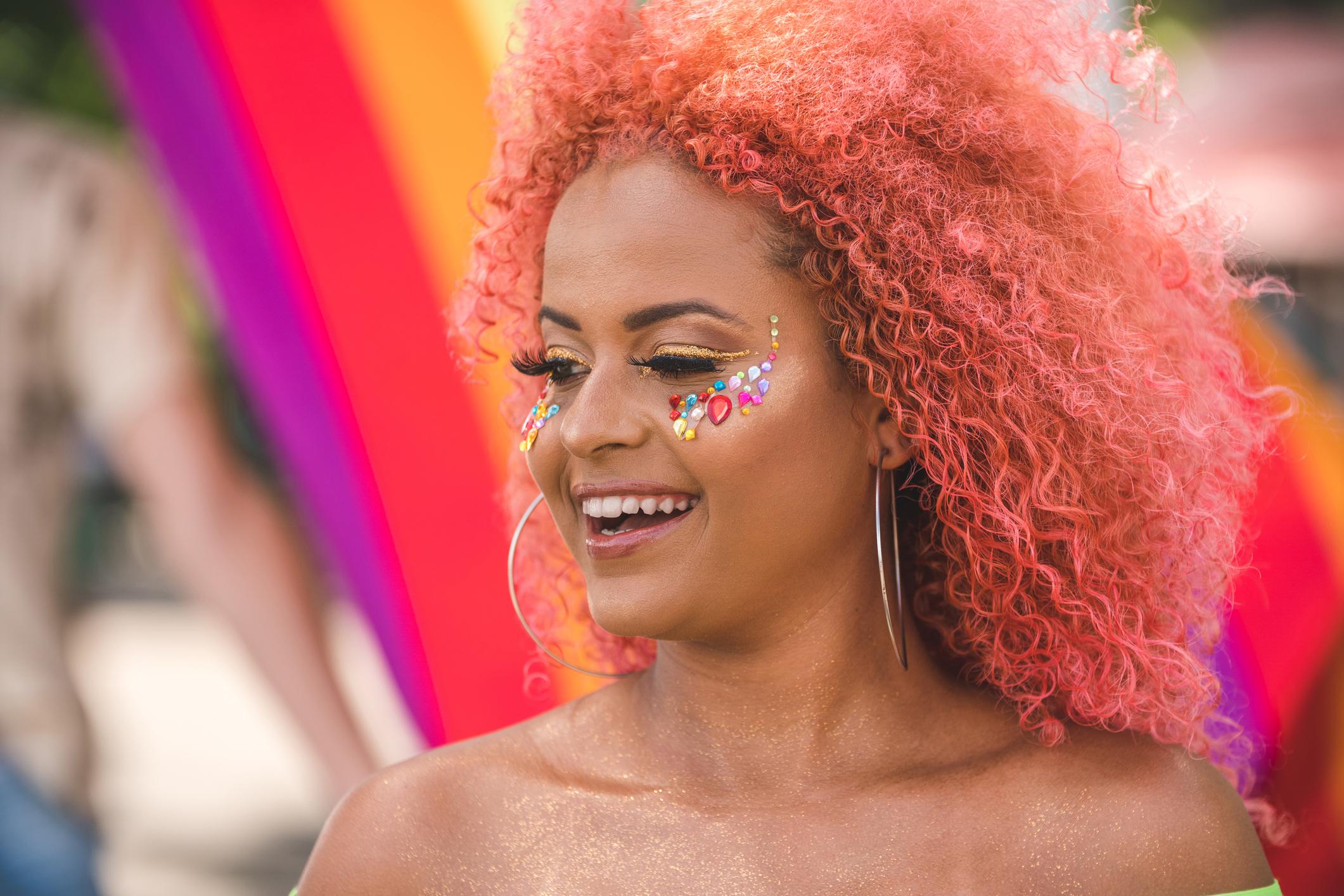 blorange hair - Dúvidas sobre cabelos coloridos? Respondemos à todas elas para você!