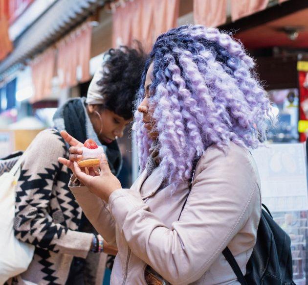 colorido na ponta - Dúvidas sobre cabelos coloridos? Respondemos à todas elas para você!