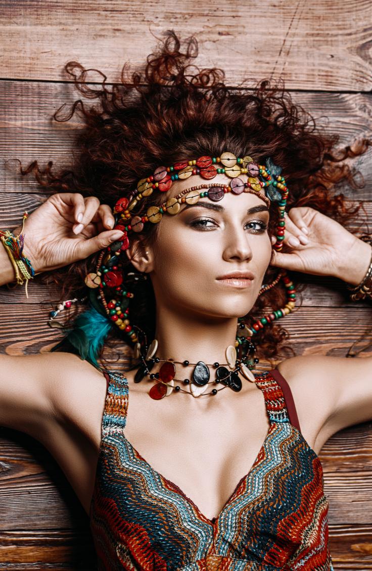 Penteados hippie