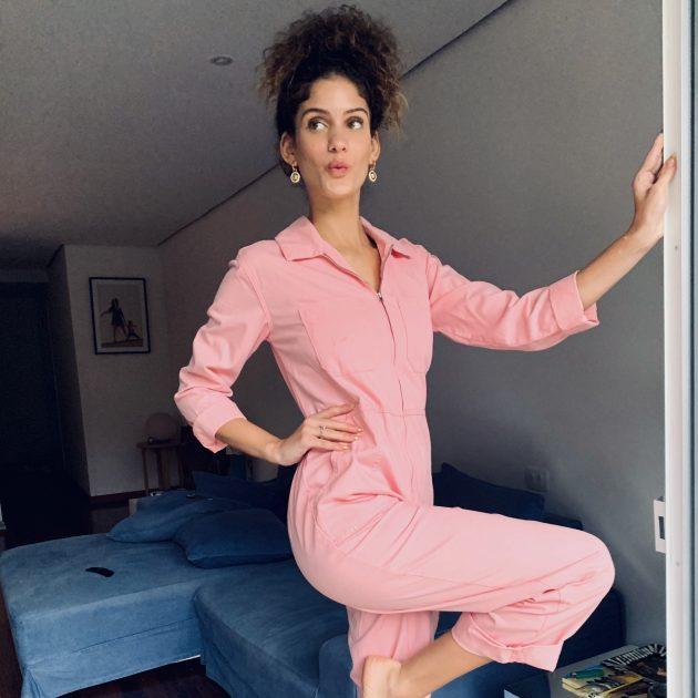Laura Fernandez roupa rosa 630x630 - Virou uniforme: os looks que nunca saem do meu armário