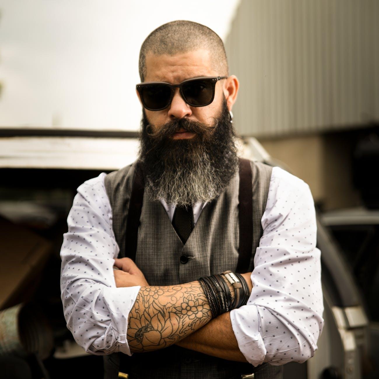barba crespa 7 - Barba crespa: existe um jeito certo de cuidar?