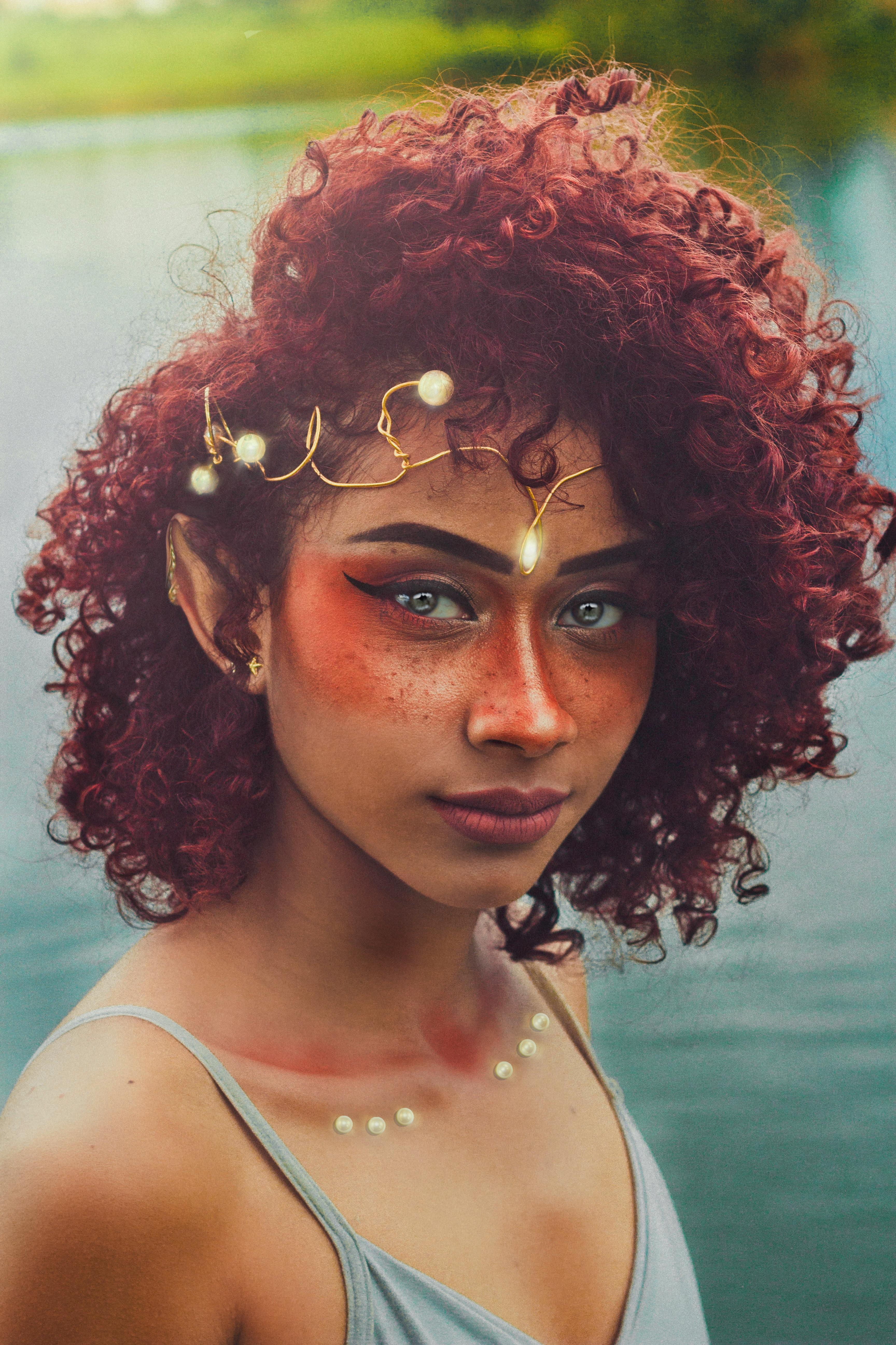 cabelo cacheado vermelho 1 - 5 modelos de cabelo cacheado vermelho para inspirar