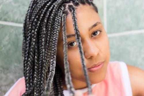 como dividir o cabelo para fazer box braids - 5 maneiras de fazer a divisão para box braids