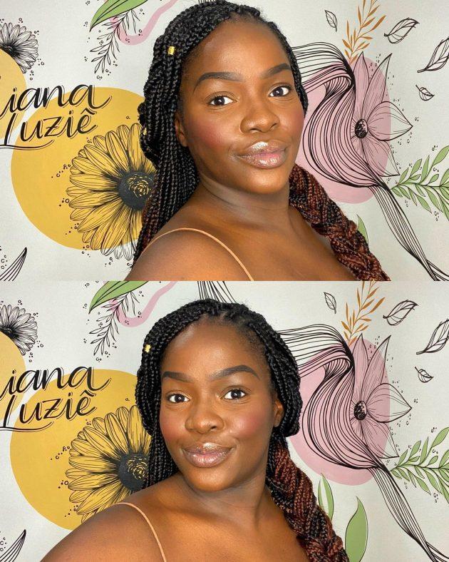 penteados com trancas box braids 630x788 - 4 penteados para tranças box braids com Juliana Luziê