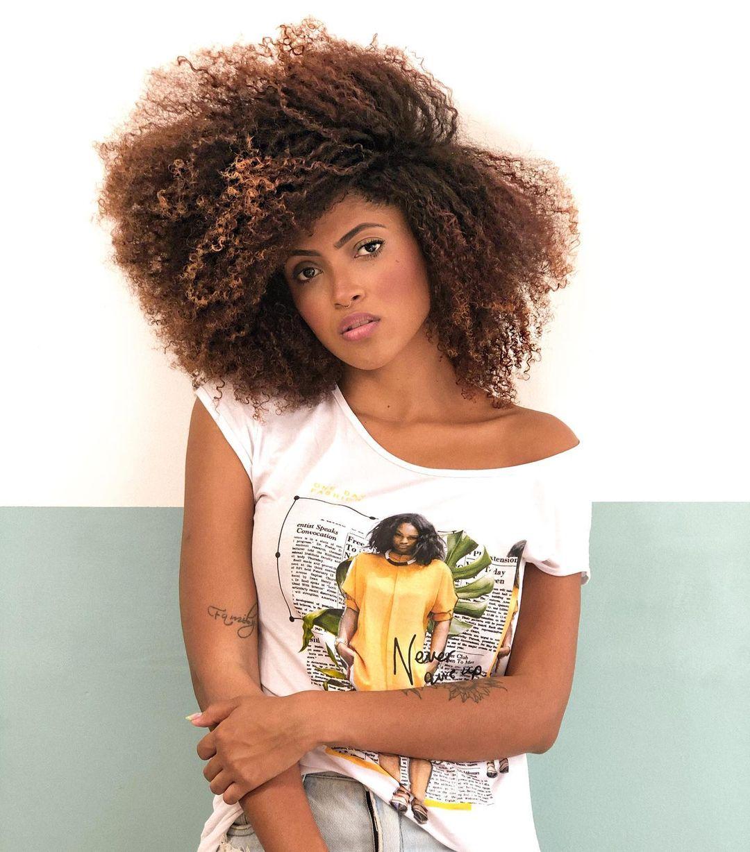 cabelo crespo grande volumoso - Cabelo crespo grande: como conseguir o comprimento que você sempre quis
